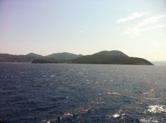 View from the ferry leaving Elba #Italy