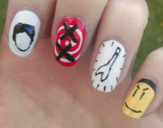 5sos Nails, Second Of Summer, 5 Seconds, Nail Art, Hand Painted, Unique Jewelry, Handmade Gifts, Inspired, Etsy