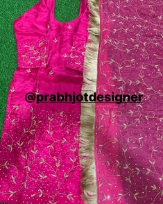 Embroidery Neck Designs, Embroidery Suits Design, Embroidery Dress, Punjabi Suits Designer Boutique, Boutique Suits, Patiala Suit Designs, Punjabi Dress, Indian Bridal Fashion, Picture Poses