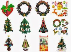 Christmas Time - All Christmas Papercrafts By Canon In One Place - == - Japanese website Canon gathered on a single page all its beautiful Christmas themed decorative paper models. There you will find from the simplest model for children, even the most complicated and detailed, that will occupy you for hours or even days. Diy Christmas Village, Merry Christmas To All, Beautiful Christmas, Christmas Themes, Christmas Diy, Xmas, Holiday Decor, Paper Toys, Paper Crafts