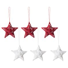 STARS --- these can be used during holidays or anytime of year to make a whimsical themed& festive party!  SNÖMYS Hanging decoration - IKEA