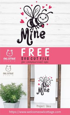 FREE Valentine's Day ideas for Cricut and Silhouette, Perfect for many DIY projects #freevalentinebee, #freebeeminesvg, #freevalentinesclipart, #beesvg, #beminesvg, #beeminesvg, #freevalentinedecal, #freebeesvg, #bemine, #freevalentinesvg, #beemine, #freevalentinebee, #owlcottagestudio, #owlcottagesvg Free Svg Cut Files, Svg Files For Cricut, Free Printable Clip Art, Crafts To Make, Diy Crafts, How To Make Planner, Christmas Quotes, Diy Craft Projects, Planner Stickers