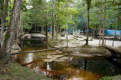 Blaka Watra (Zwart Water) is een klein recreatieoord nabij het Indiaanse dorpje Redi Doti. In het water is een kleine stroomversnelling waar je lekker in