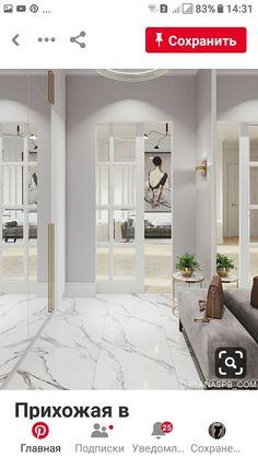 trendy home interior classic foyers White Interior Design, Home Interior, Home Entrance Decor, Flur Design, Hallway Designs, Living Room Flooring, Trendy Home, Design Case, Home Decor Kitchen