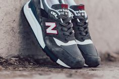 New Balance 998CRA Made in USA (Grey Red   Teal)  sneakers  sneakernews 787a382d89b