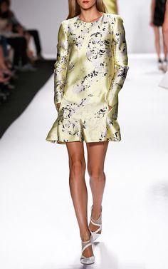 J.Mendel Spring/Summer 2014 Trunkshow Look 28 on Moda Operandi