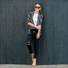 Camila Coelho - Instagram - camilacoelho.com - Women´s Fashion Style Inspiration - Moda Feminina Estilo Inspiração - Look  spfw camila coelho look do dia desfile animale carol bassi