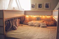 Diese Familie zaubert aus IKEA-Gegenständen ein 7-Mann Bett! Das musst du gesehen haben, um es zu glauben! - DIY Bastelideen