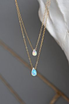 can i have.. like.. the non- expensive version of these gold and opal drops necklaces thanks