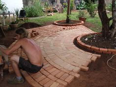 Farmhouse, Backyard, Fire, House Design, Retaining Walls, Outdoor Decor, Gardening, Brick Flooring, Cinder Block Garden