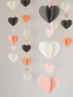 Hilo corazones