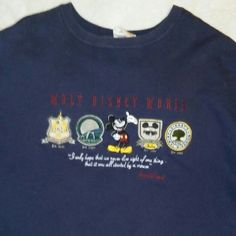 Wait Disney World sweat Shirt Navy blue very warm and comfy... Walt Disney World Tops Sweatshirts & Hoodies