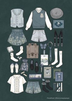 Clothes design art fashion illustrations New ideas Vintage Fashion Sketches, Fashion Design Drawings, Mode Lolita, Drawing Anime Clothes, Clothing Sketches, Character Outfits, Anime Outfits, Costume Design, Designs To Draw