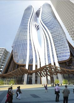 Esan Rahmani & Raymond Ng design for Parramatta Square