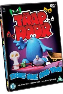 plasticine animation, featuring Berk, a blue creature who lives as servant to the unseen 'Thing Upstairs' in an old dark house. Every time the trap door opens a new adventure begins for . Kids Tv, 90s Kids, 90s Tv Shows Cartoons, Doors Movie, Trap Door, Dark House, All Movies, Kids Shows, British History