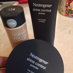 Despues de tanto buscar el mejor maquillaje para piel grasa! Muy recomendado! #neutrogena #shinecontrol