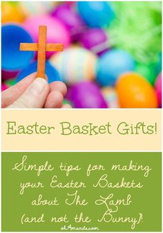 Share an easter basket filled with jesus this year easter baskets super simple ways to make your easter basket gifts about jesus lots of scriptures negle Gallery