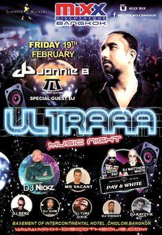 Mixx #Bangkok Presents Ultraaa !