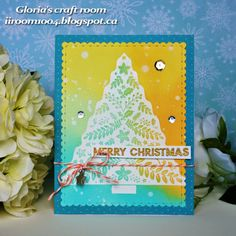 Gloria's craft room: Merry Christmas!
