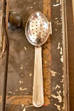 Vintage Tea Spoon Strainer