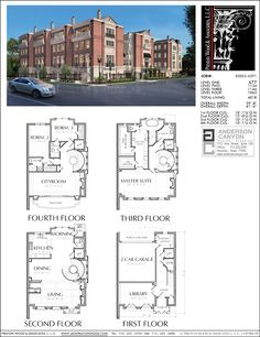 I don't know what a City Room is, but I want one! - Townhouse Plan E2023 Lot 1