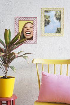 Marcos de fotos con palitos de brocheta de bambú Ideas Para, Diy Crafts, Frame, Furniture, Home Decor, Art, Tela, Storage Room, Craft Tutorials
