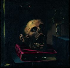 Jacopo Ligozzi, Vanitas, early 17th century