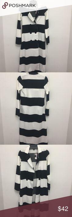 NWT Stripe Blazer NWT double zero long light weight blazer, perfect dressy or casual. Double Zero Jackets & Coats Blazers