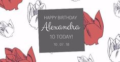 Birthday card Graphic Design template