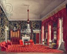 Image result for interior tea room buckingham palace background