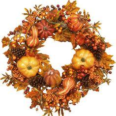 Found it at Joss & Main - Faux Fall Wreath