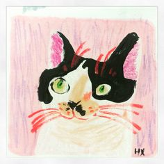 Everyday cats on behance illustrator illustration art, cat a Kunst Inspo, Art Inspo, Art And Illustration, Cat Illustrations, Cat Drawing, Painting & Drawing, Painting Tips, Watercolor Painting, Drawn Art