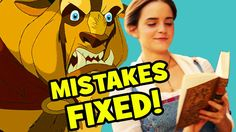 10 MOVIE MISTAKES Fixed By Beauty And The Beast (2017) - YouTube