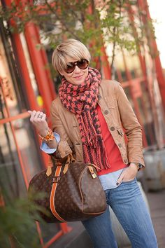 scarf + bag