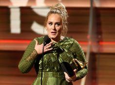 CAnadauenCE tv: Adele é a principal vencedora do Grammy 2017