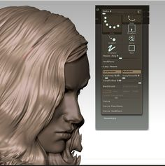 // 10 top tips for sculpted hair in ZBrush - 3dtotal.com