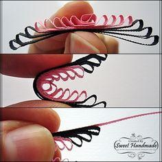 • • Sweet Handmade: Tutorial - flower comb