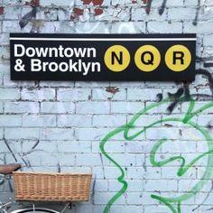 Downtown and Brooklyn N Q R