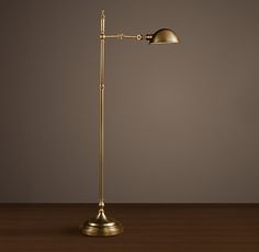 Franklin Pharmacy Task Floor Lamp Antique Brass --- need this in the bedroom nook