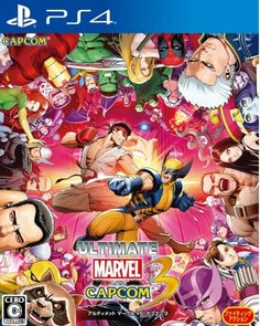Ultimate Marvel vs Capcom 3 - Only at GameStop for Xbox One Epic Characters, The Originals Characters, Video Games Xbox, Xbox One Games, Playstation Games, Ps4 Games, God Of War, Marvel Vs, Nintendo 3ds