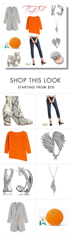 """""""TGIF"""" by the-way-she-wears-it-finspo ❤ liked on Polyvore featuring Strategia, Gap, 81 Hours, Pandora, Vanessa Bruno, Kate Spade and Bobbi Brown Cosmetics"""