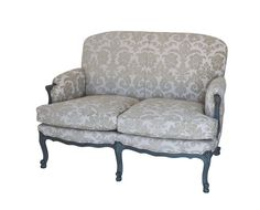 Louis XV Bergere 2 Seater Closed Arms Fully Uphols 1