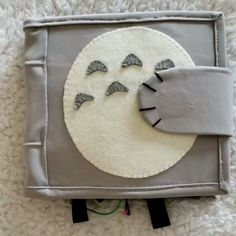 Totoro Studio Ghibli Quiet Book DIY Totoro and Studio Ghibli themed quiet book!You can find Studio ghibli and more on our website.Totoro Studio Ghibli Quiet Book DIY Totoro a. Diy Quiet Books, Felt Quiet Books, Toddler Quiet Books, Diy Children's Books, Diy And Crafts, Crafts For Kids, Book Crafts, Simple Crafts, Quiet Book Patterns