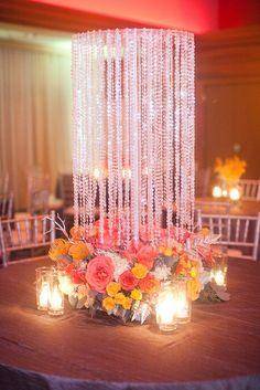 Colorful virginia wedding by jodi miller and merriment events elegant wedding decoration junglespirit Image collections