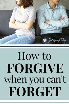 Are you having a hard time forgiving someone who has hurt you? When the wound is deep it can be difficult to forgive. Yet the Bible calls us to forgive those who hurt us. Here are some biblical tips on how to forgive when you can't forget. #forgiveness #forgive #overcome #bible Marriage Relationship, Marriage Advice, Colossians 3 16, Sisters In Christ, Grown Women, Grow Together, Healthy Relationships, Word Of God, Forgiveness