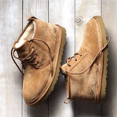 Part chukka, part Classic Boot, and a whole lot of comfort. Say hello to the Neumel. @uggformen