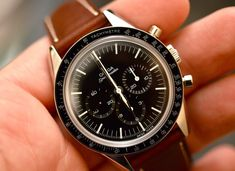 "A Vintage Watch Nerd's Critical Dissection Of The New Omega Speedmaster ""First Omega In Space"""