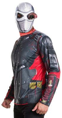 DC Comics Men's Suicide Squad Deadshot Costume, Size: