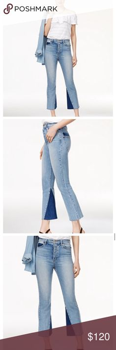 Joe's Bella buttonfly high rise bells High rise. Slim fit through hips and thighs. Bells at the bottom. Worn once to a dinner party. Perfect for upcoming spring 🌷🌸🌹🌻🌼💐🍄 Joe's Jeans Jeans