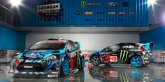 Crashkhana Ken Block Goes UpsideDown and Backwards IntoWall in His GRC Fiesta - It appears Ken Block has mastered a new vehicular dance for his specially prepped Ford Fiesta: The backwards jump-drift barrel rollinto a wall. Similar to the